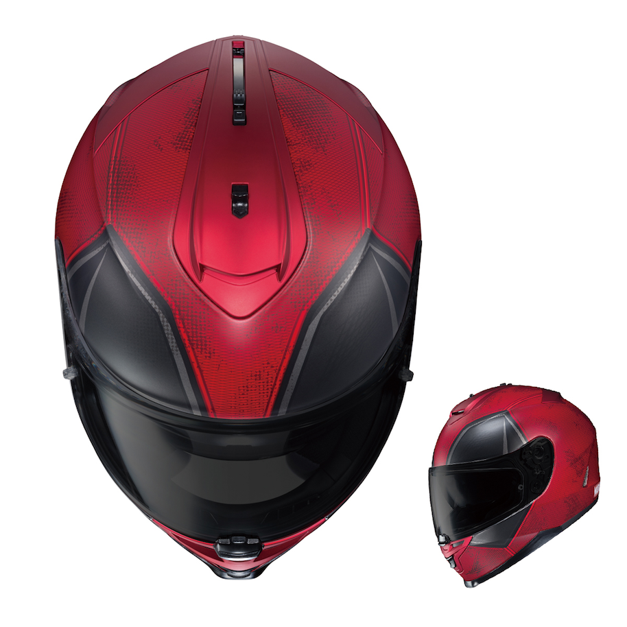 Hjc Fg 17 >> HJC Updates Marvel Motorcycle Helmets Line with Ghost Rider, Deadpool