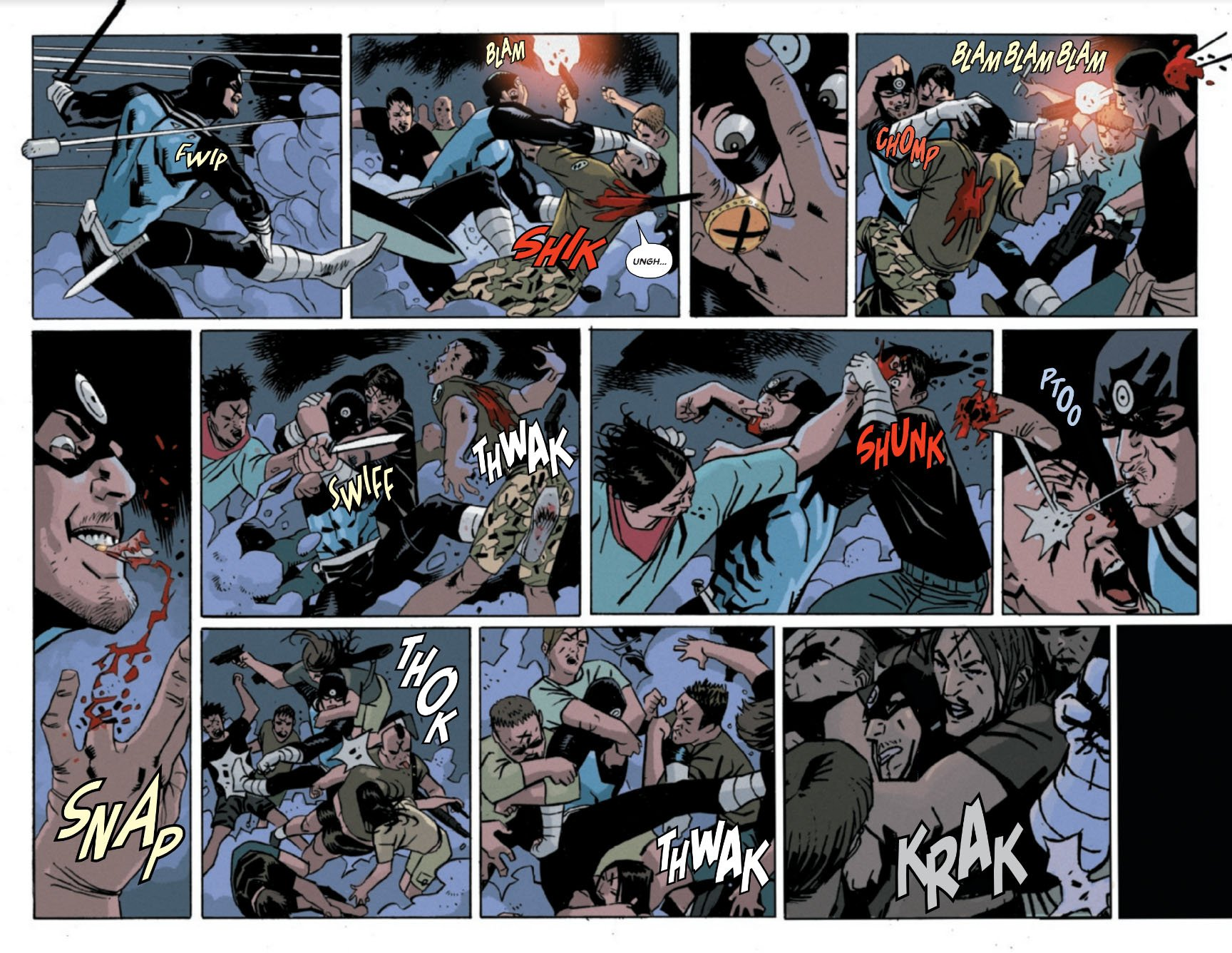 Bullseye 3 pages 2 and 3