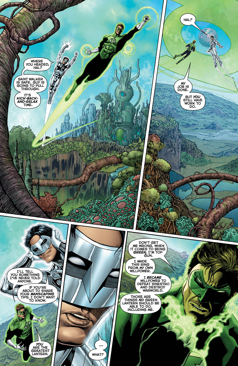 Hal Jordan and the Green Lantern Corps 17 page 5