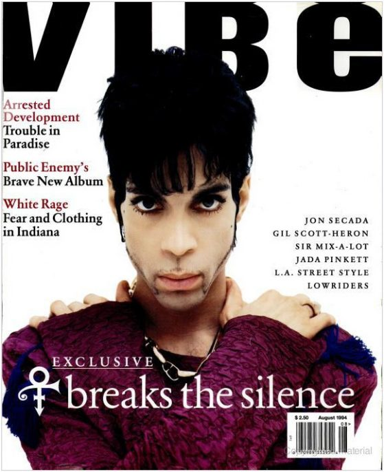 """The Artist Formerly Known as Prince"" (August 1994)"