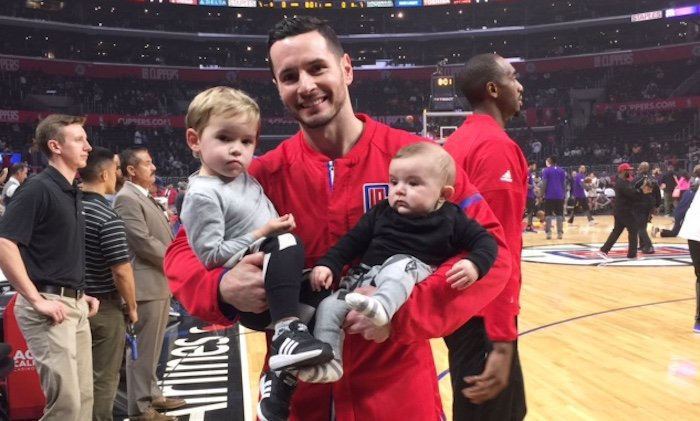 Redick's proudest accomplishment? Being a father.