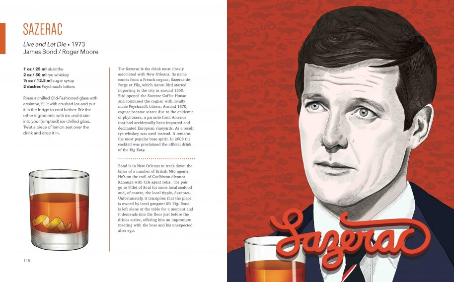 Sazerac / Live and Let Die, 1973 James Bond / Roger Moore © Stacey Marsh