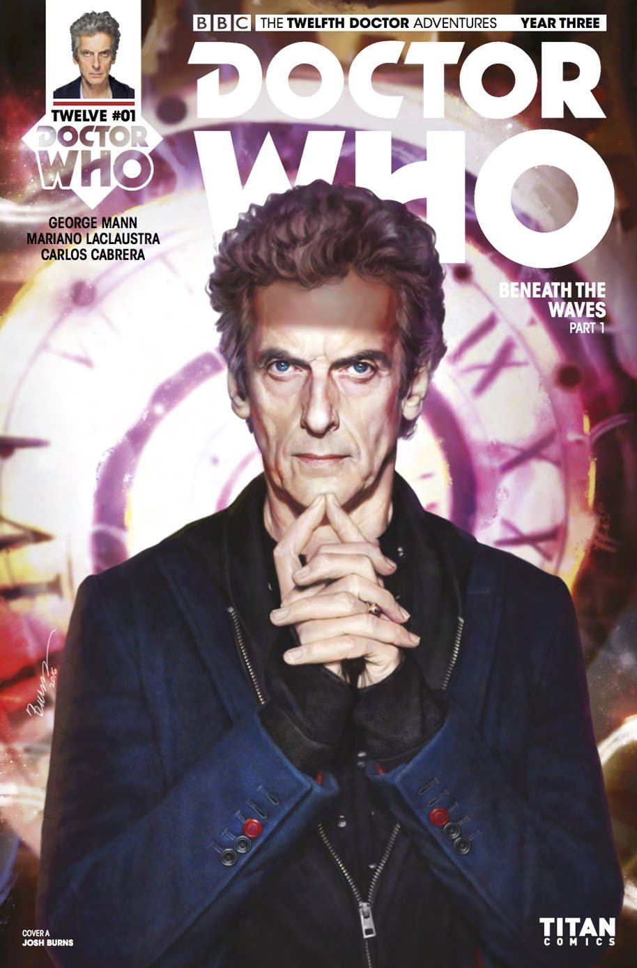 Doctor Who Twelfth Doctor Year Three 1 Cover A