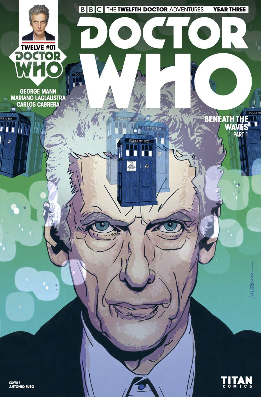 Doctor Who Twelfth Doctor Year Three 1 Cover E