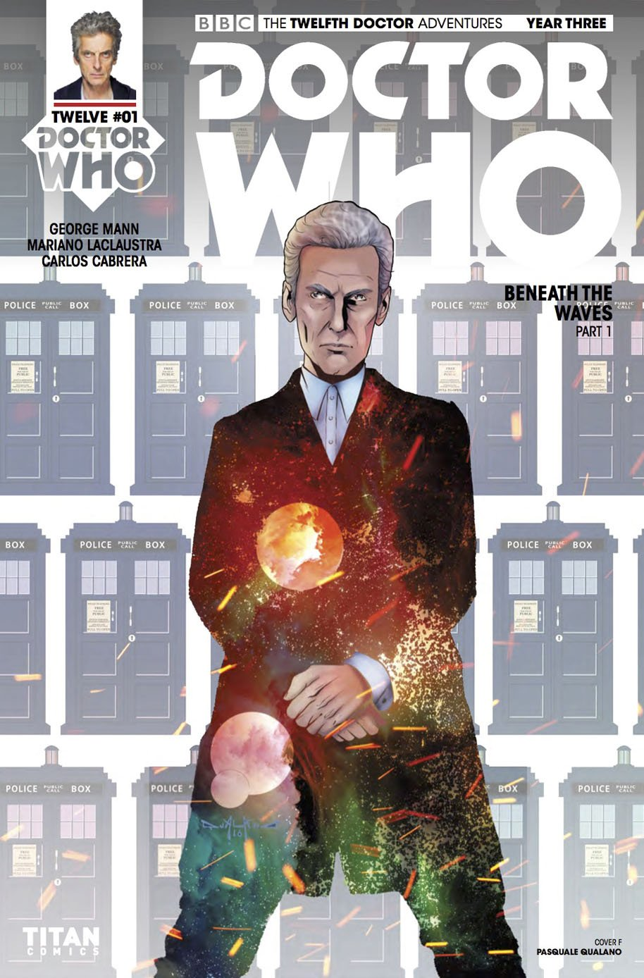 Doctor Who Twelfth Doctor Year Three 1 Cover F