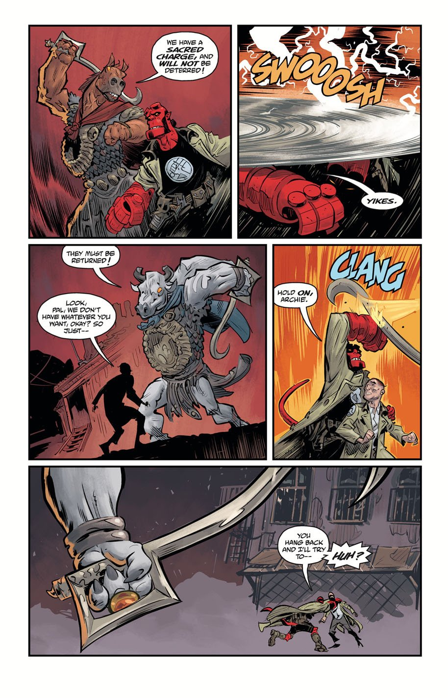 Hellboy and the BPRD 1954 Ghost Moon 2 page 4