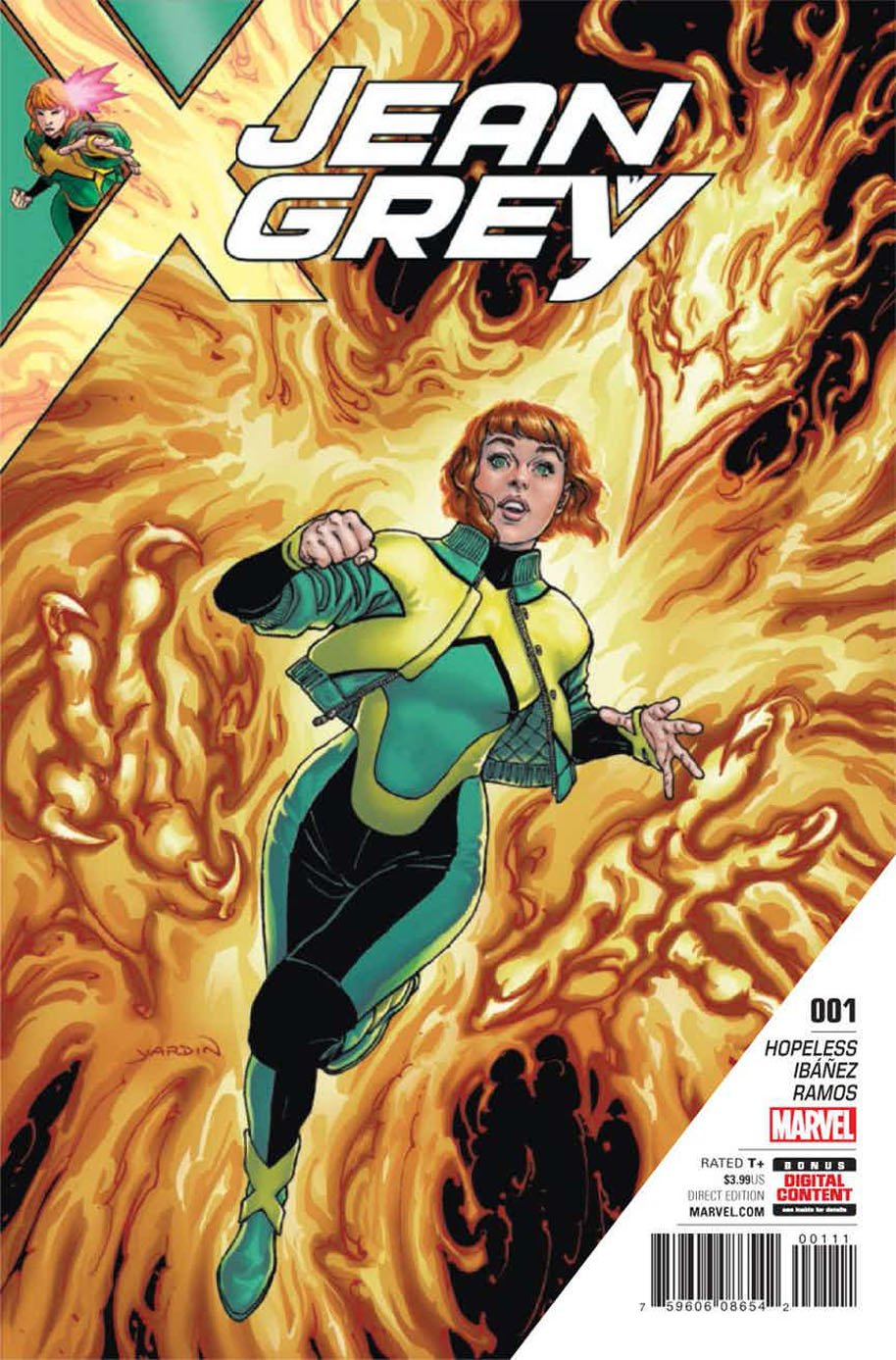 Jean Grey 1 cover