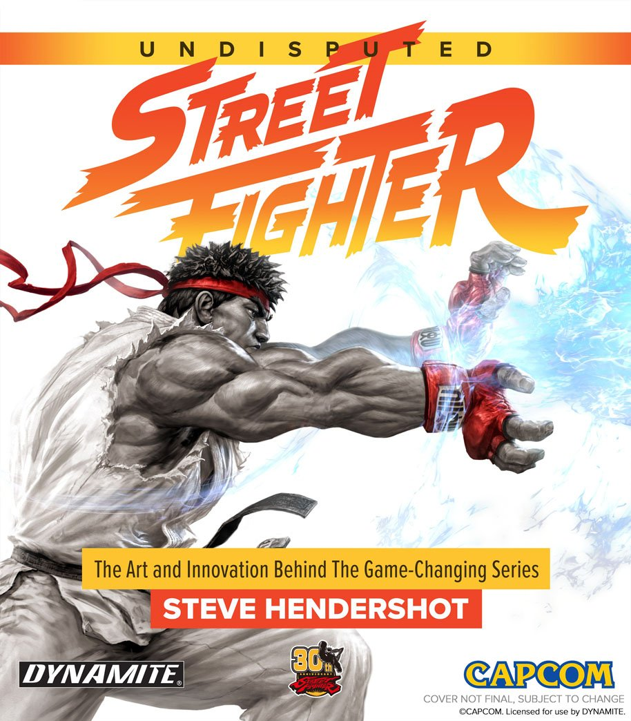 Undisbuted Street Fighter cover