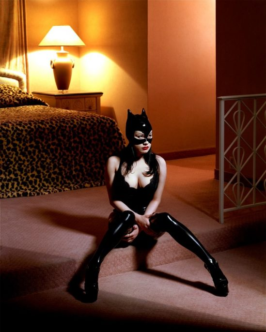 Albert Watson, Breaunna in a Cat Mask, Las Vegas Hilton Las Vegas.
