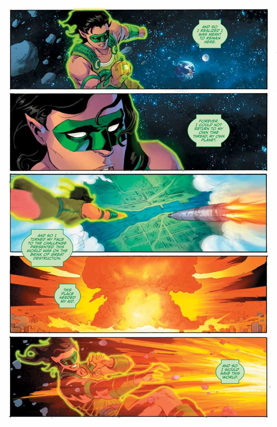 Planet of the Apes Green Lantern 4 page 5