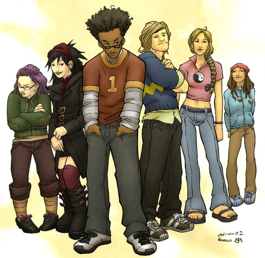 Runaways Cover Marvel