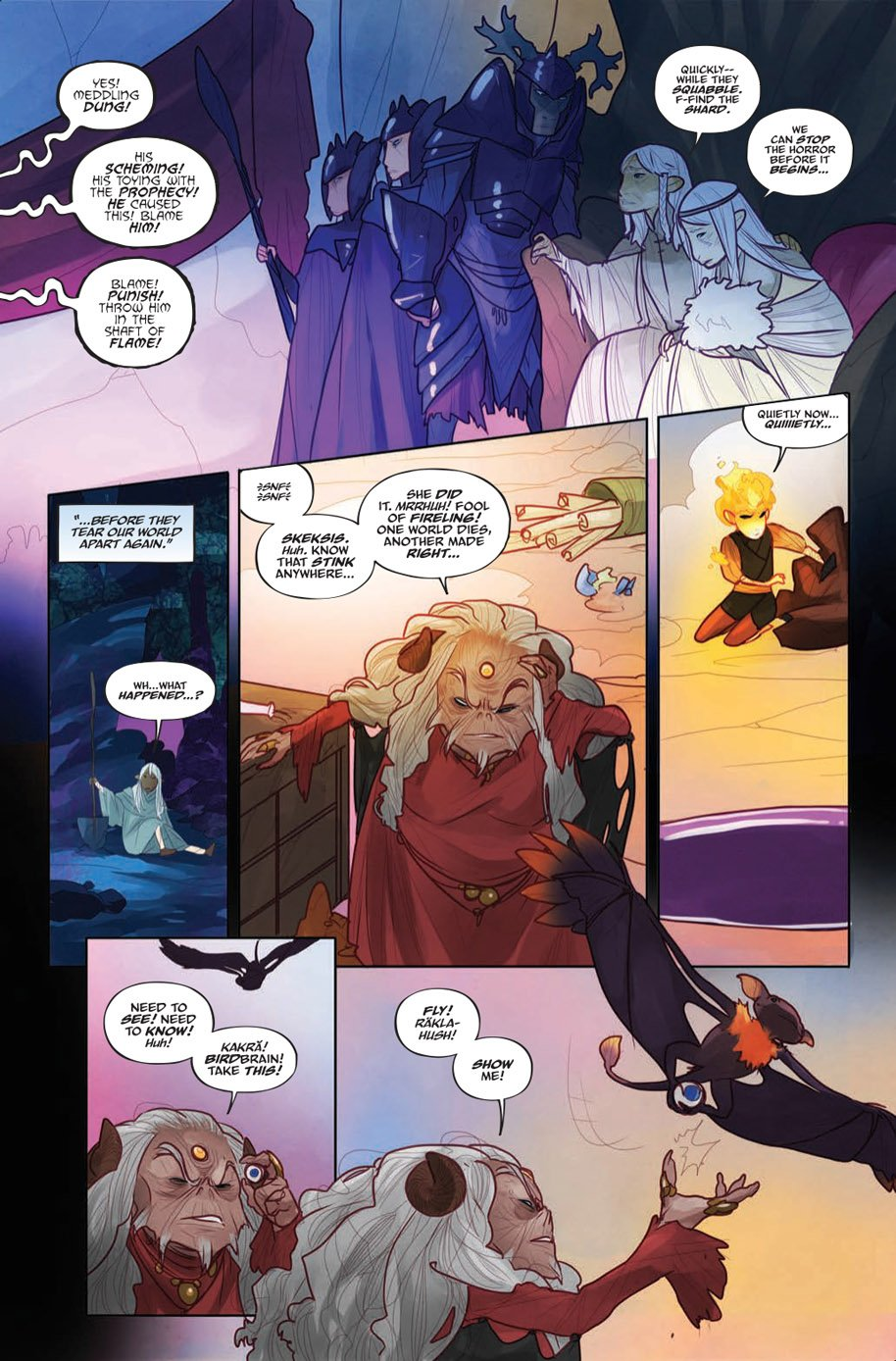The Power of the Dark Crystal 3 page 6