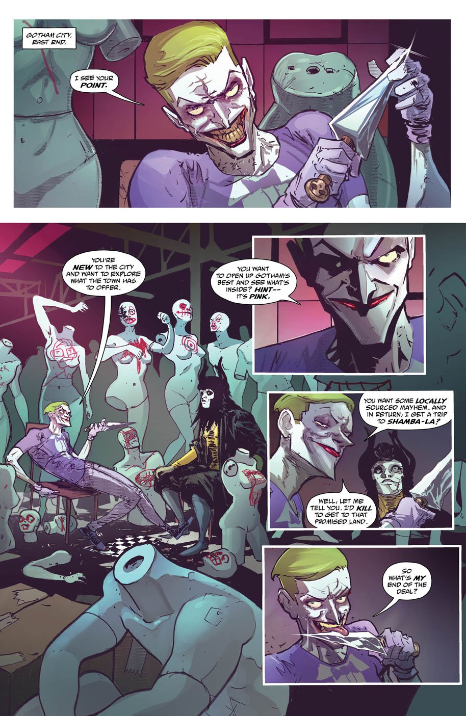Batman The Shadow 3 page 1