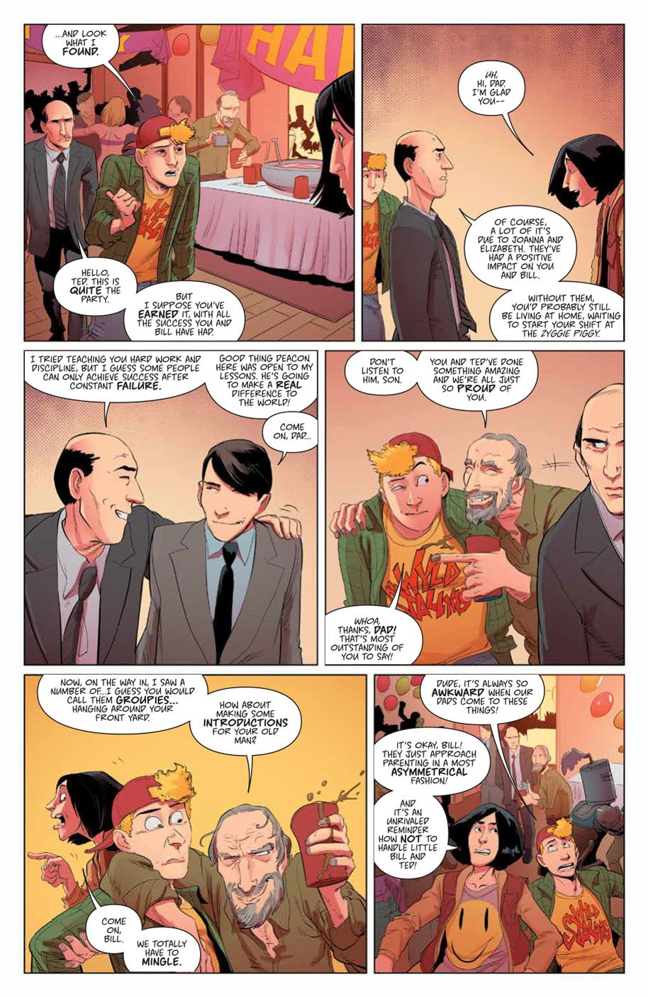 Bill & Ted Save the Universe 1 page 10