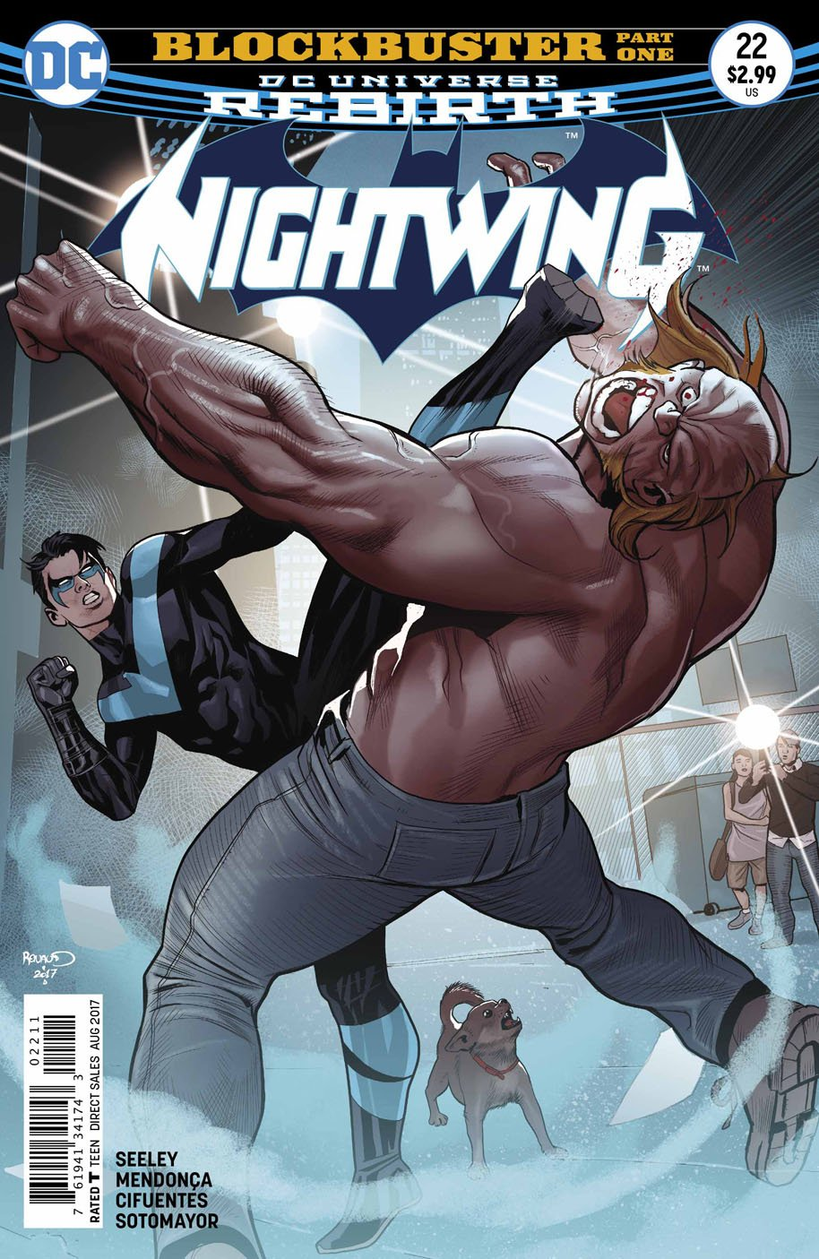 Nightwing 22 cover