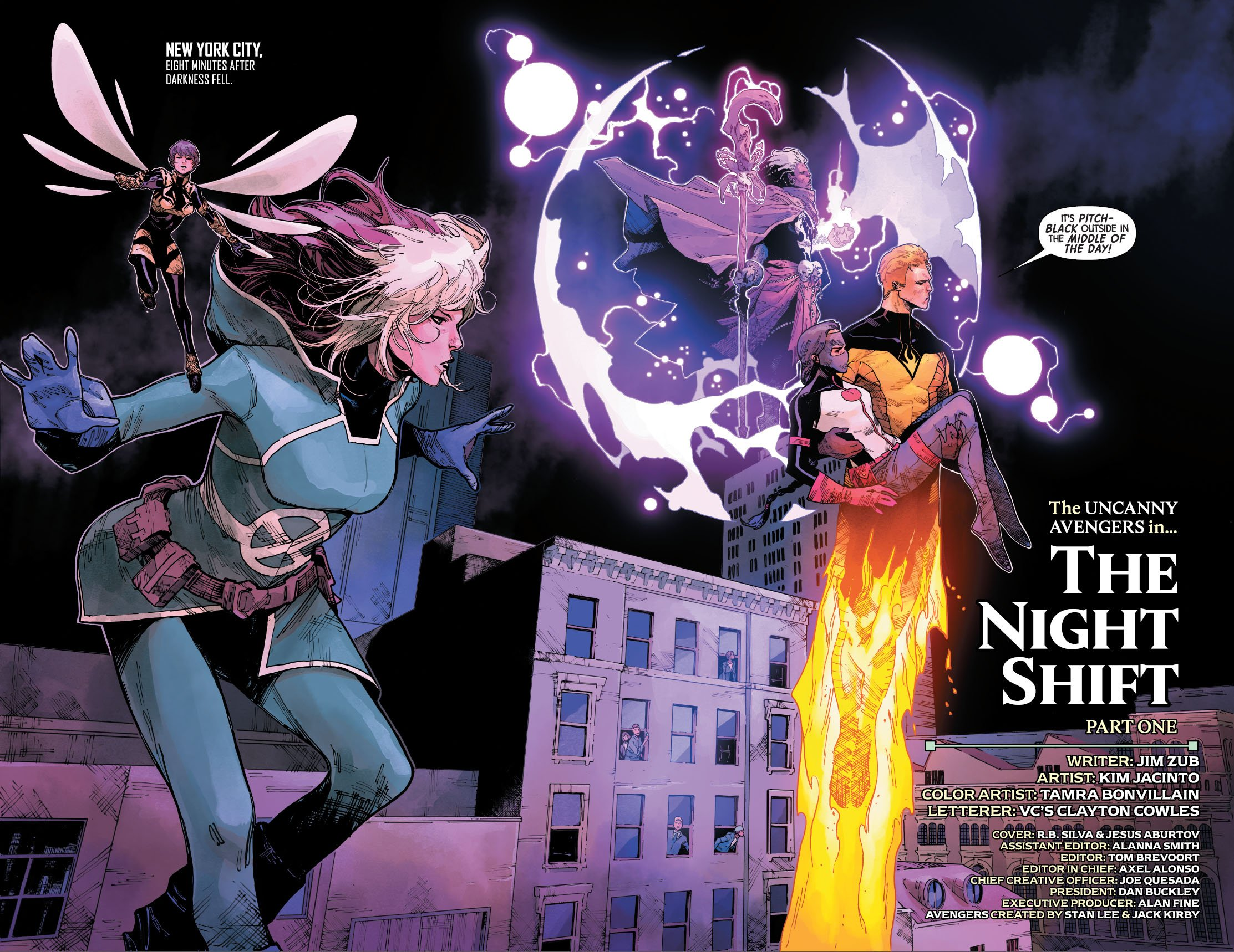 Uncanny Avengers 24 pages 2 and 3