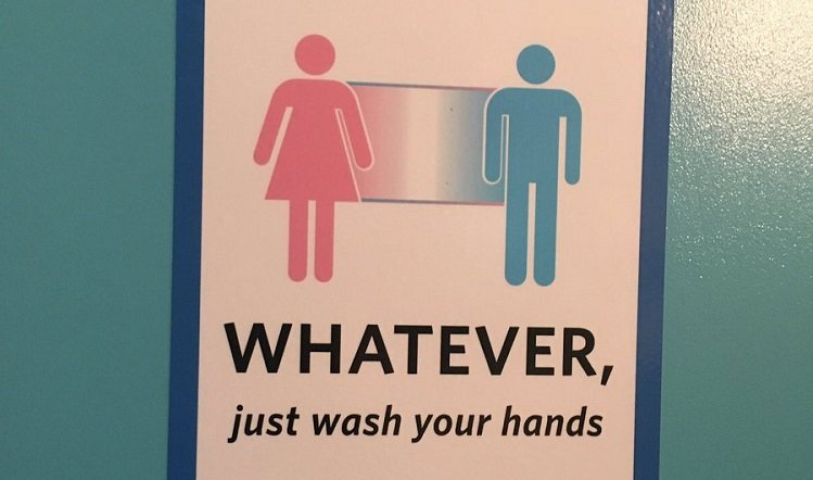 People Are Installing Brilliant Gender Inclusive Signs