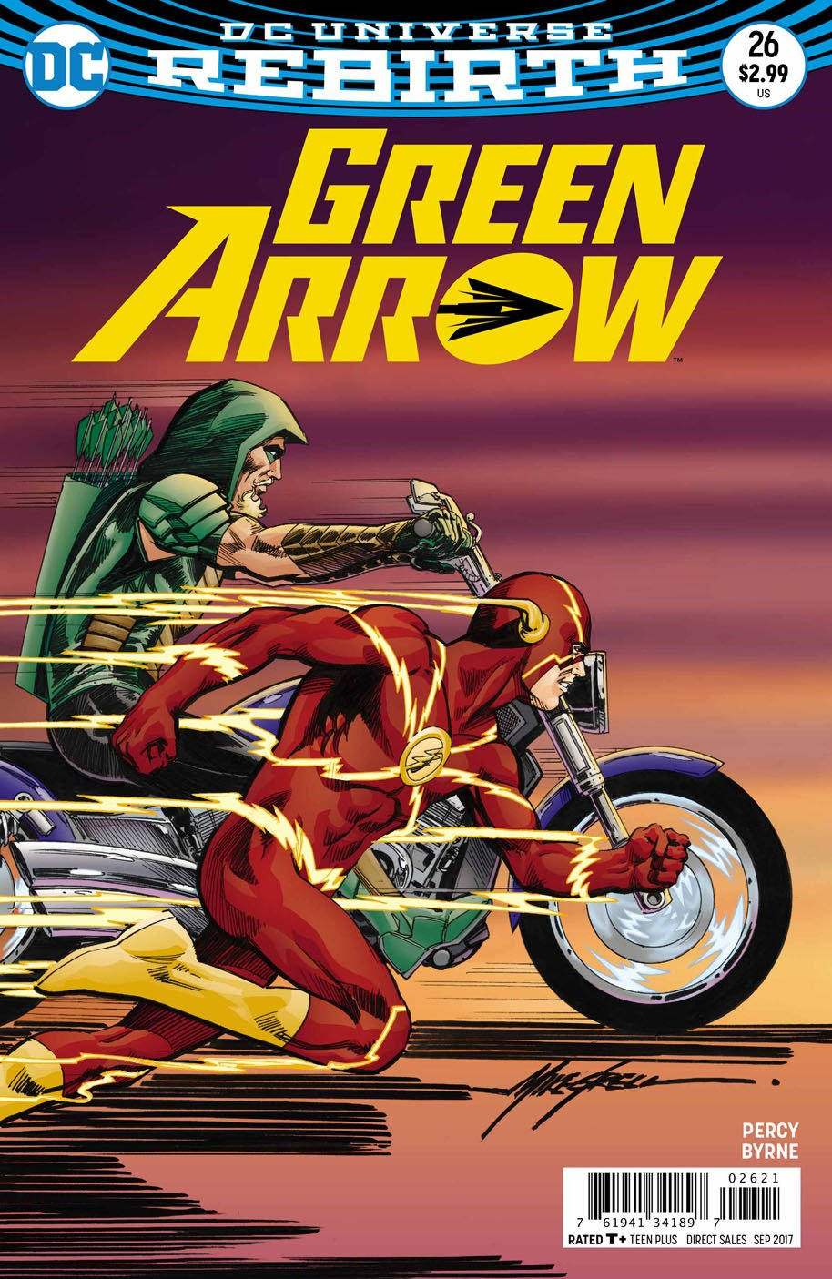 Green Arrow 26 open order variant cover