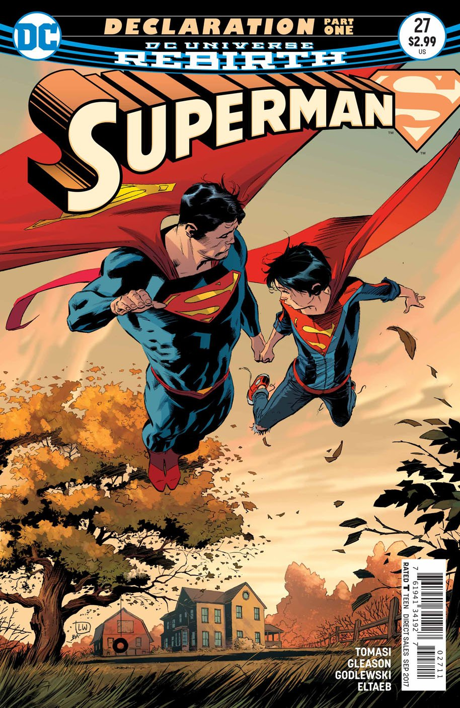 Superman 27 cover