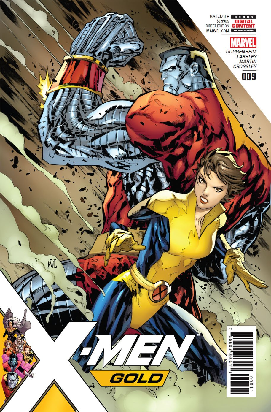 X-Men Gold 9 cover