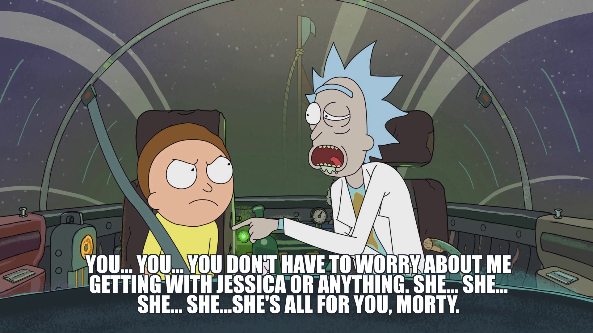 4 rick and morty meme generator master of all science' is the 'rick and morty' meme generator fans