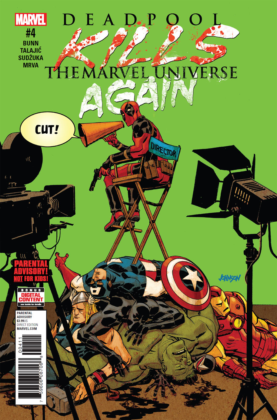 Deadpool Kills the Marvel Universe Again 4 cover