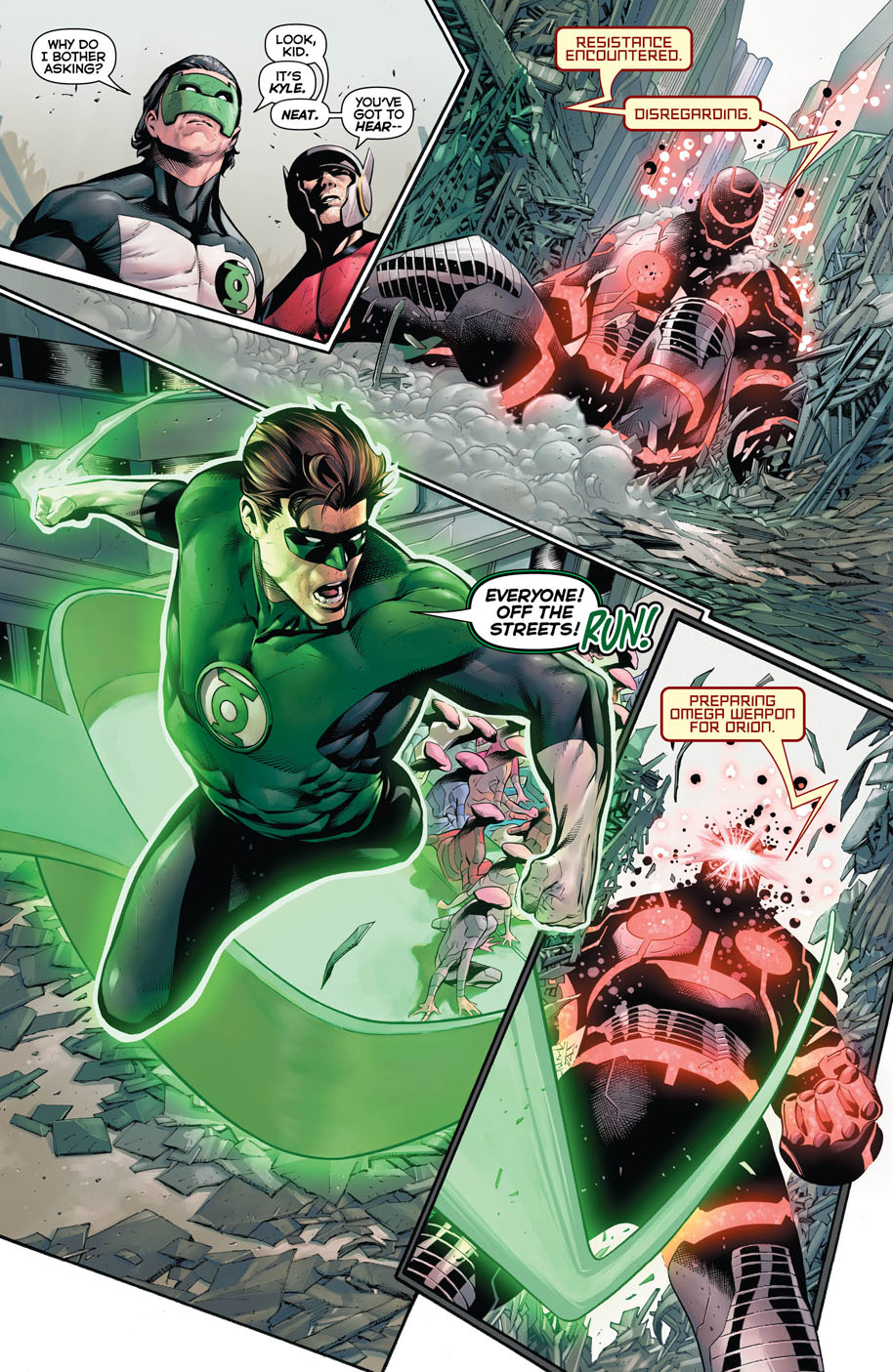 Hal Jordan and the Green Lantern Corps 27 page 4