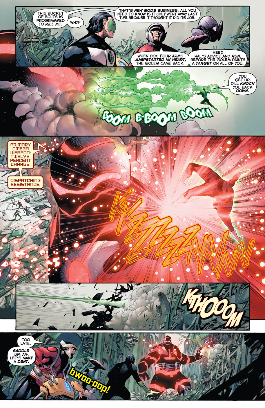 Hal Jordan and the Green Lantern Corps 27 page 5