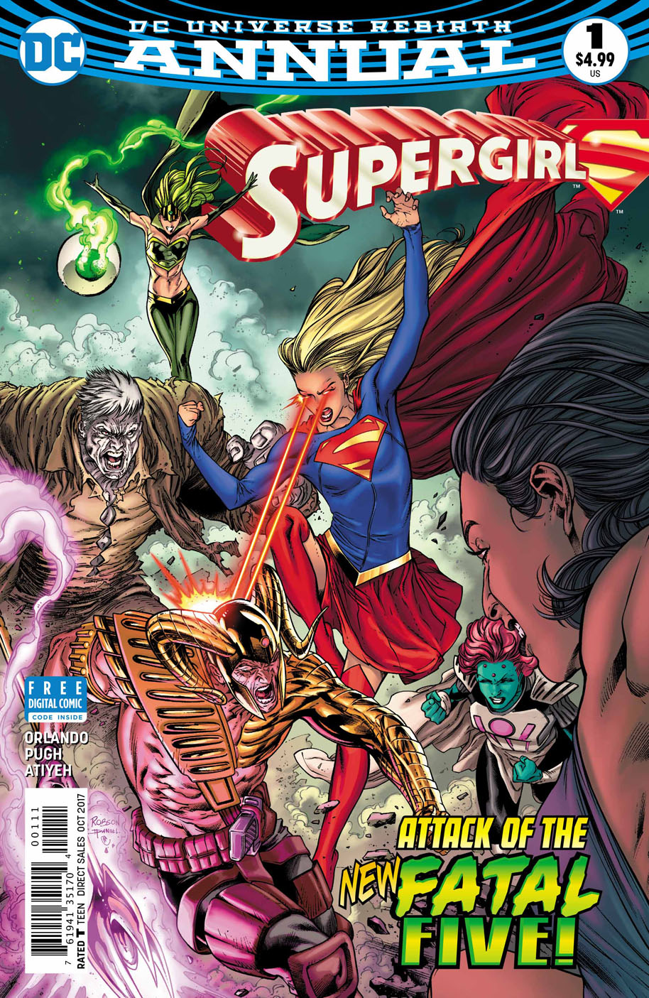 Supergirl Annual 1 cover