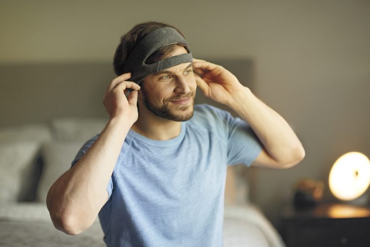 SmartSleep white noise headband
