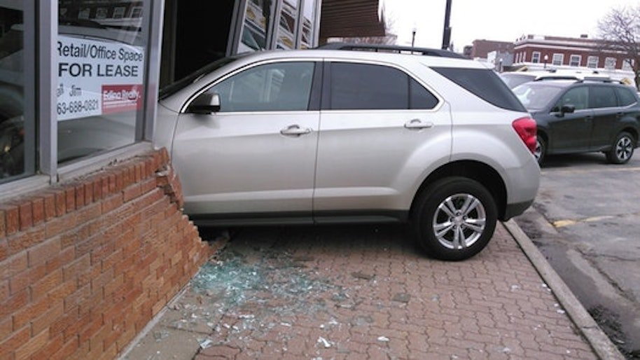 Teenager Crashes Into License Centre And Inevitably Fails Driving Test