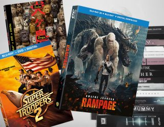 Binge & Buy: 'Rampage' and 'Isle of Dogs' Bring Out the Animal in You