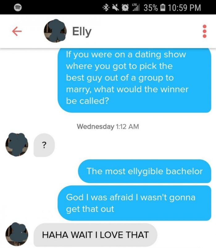 Good tinder jokes