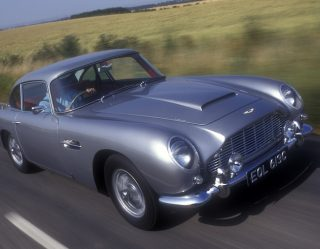 James Bond's Aston Martin DB5 Is Going Back Into Production