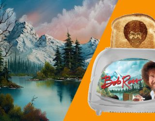 The Bob Ross Toaster Shows How Technology Can Make Breakfast Even Better.