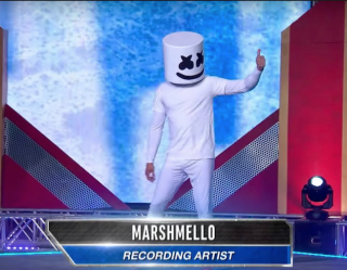 Watch | DJ Marshmello Takes on the American Ninja Warrior Course