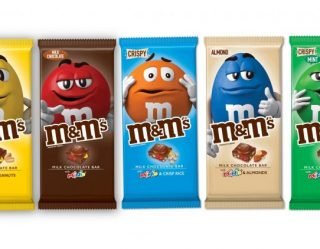 M&M's Shape-Shifts From Candy To Chocolate Bars