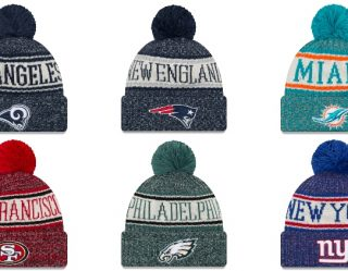 Rep Your Favorite Sports Team With New Era's Official NFL Cold Weather Collection