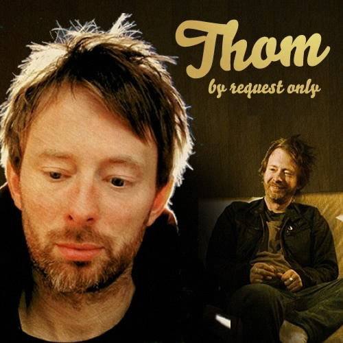 Thom the pensive frontman