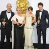 87th Annual Academy Awards - Press Room at The Dolby Theatre Featuring: J.K. Simmons, Patricia Arquette, Julianne Moore, Eddie Redmayne Where: Los Angeles, California, United States When: 22 Feb 2015 Credit: FayesVision/WENN.com