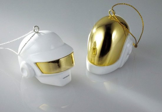 Daft Punk Limited Edition Robot Helmet Ornament Set