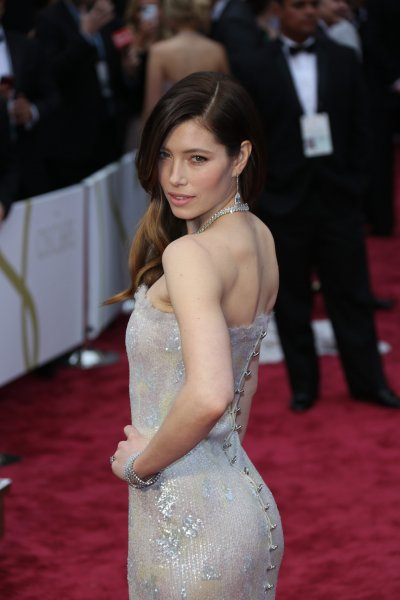 The 86th Annual Oscars held at Dolby Theatre - Red Carpet Arrivals Featuring: Jessica Biel Where: London, United Kingdom When: 03 Mar 2014 Credit: WENN.com **Not available for publication in Germany**