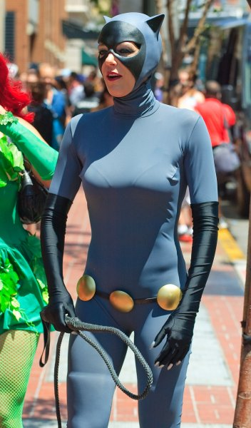 San Diego Comic-Con International - Day 3 - Celebrity Sightings Featuring: Adrianne Curry Where: San Diego, California, United States When: 26 Jul 2014 Credit: Tony Forte/WENN