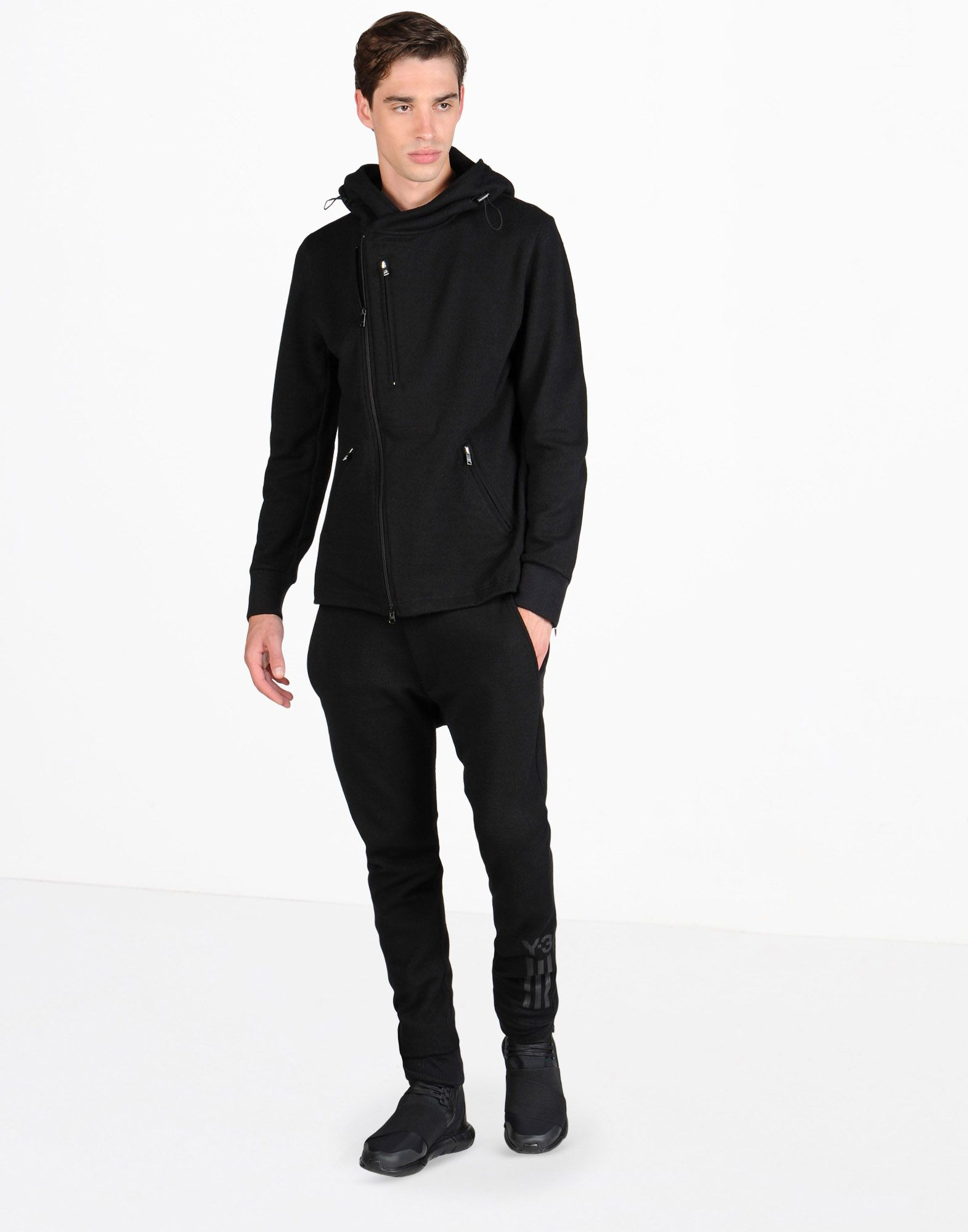Y-3, Wool Jersey Pant