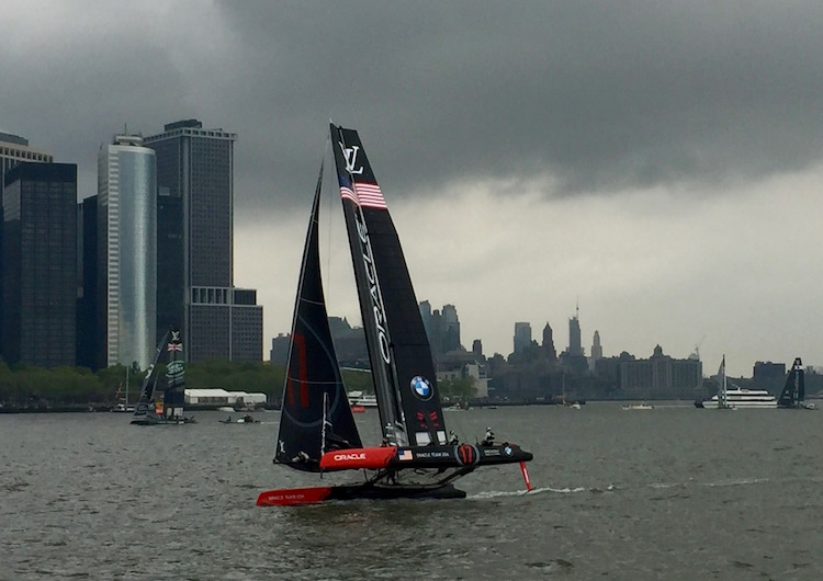 BMW and the America's Cup, New York