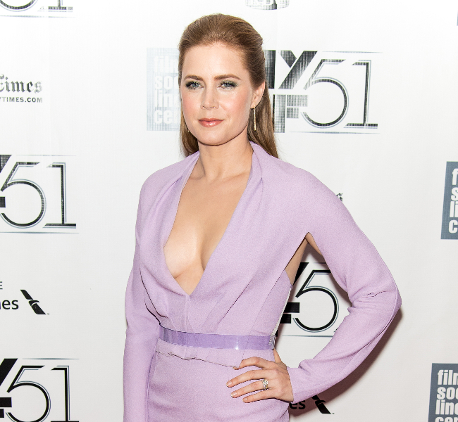 """Actress Amy Adams attends the Closing Night Gala Presentation Of """"Her"""" during the 51st New York Film Festival"""