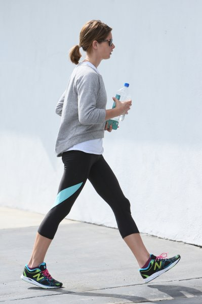 Ashley Greene seen arriving for a workout at Rise Movement gym in West Hollywood. Featuring: Ashley Greene Where: Los Angeles, California, United States When: 17 Apr 2014 Credit: Michael Wright/WENN.com