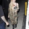 Avril Lavigne performs on the Jimmy Kimmel Show