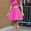 Bella Thorne arrives for an appearance on ABC's 'The View' in New York City Featuring: Bella Thorne Where: Manhattan, New York, United States When: 26 Mar 2015 Credit: TNYF/WENN.com