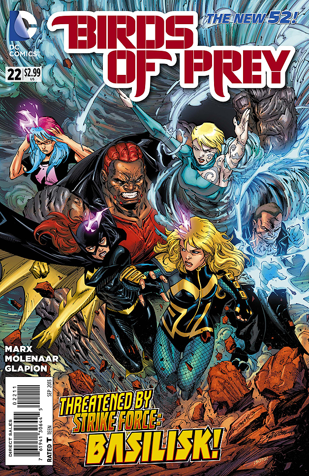 Birds of Prey #22